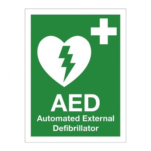 Defibrillator Sign 1