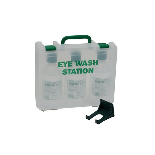 Triple Eye Wash Station 1