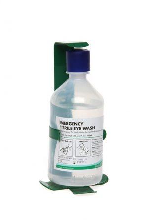 Sterile Eye Wash 500ml Bottle with Bracket