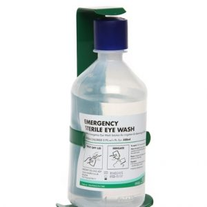 Sterile Eye Wash 500ml Bottle with Bracket
