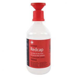 Redcap™ Chemical Eye Wash Solution 500ml