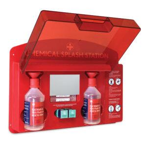 Redcap™ Chemical Splash Eye Wash Station