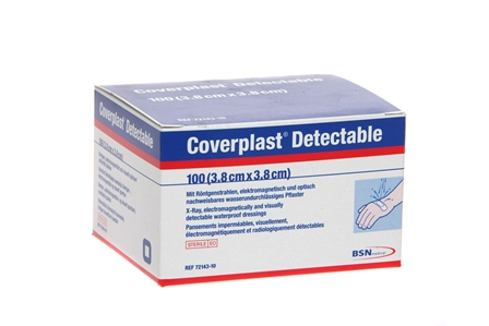 Coverplast Blue Detectable Plasters