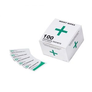 Moist Cleansing Wipes Box 100
