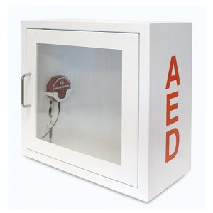 AED Wall Cabinet - Alarmed