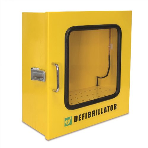 Outdoor Heated AED Wall Cabinet 1