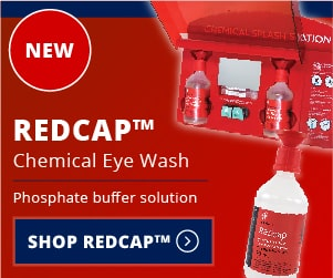 Redcap Chemical Eye Wash - NEW - Phosphate Buffer Solution - Shop Redcap