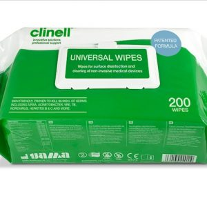 Clinell Universal Wipes 200