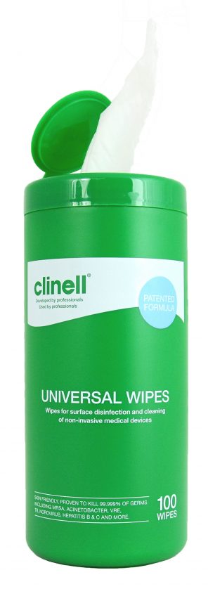 Clinell Universal Wipes Tub