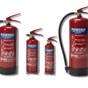 Powder Fire Extinguishers
