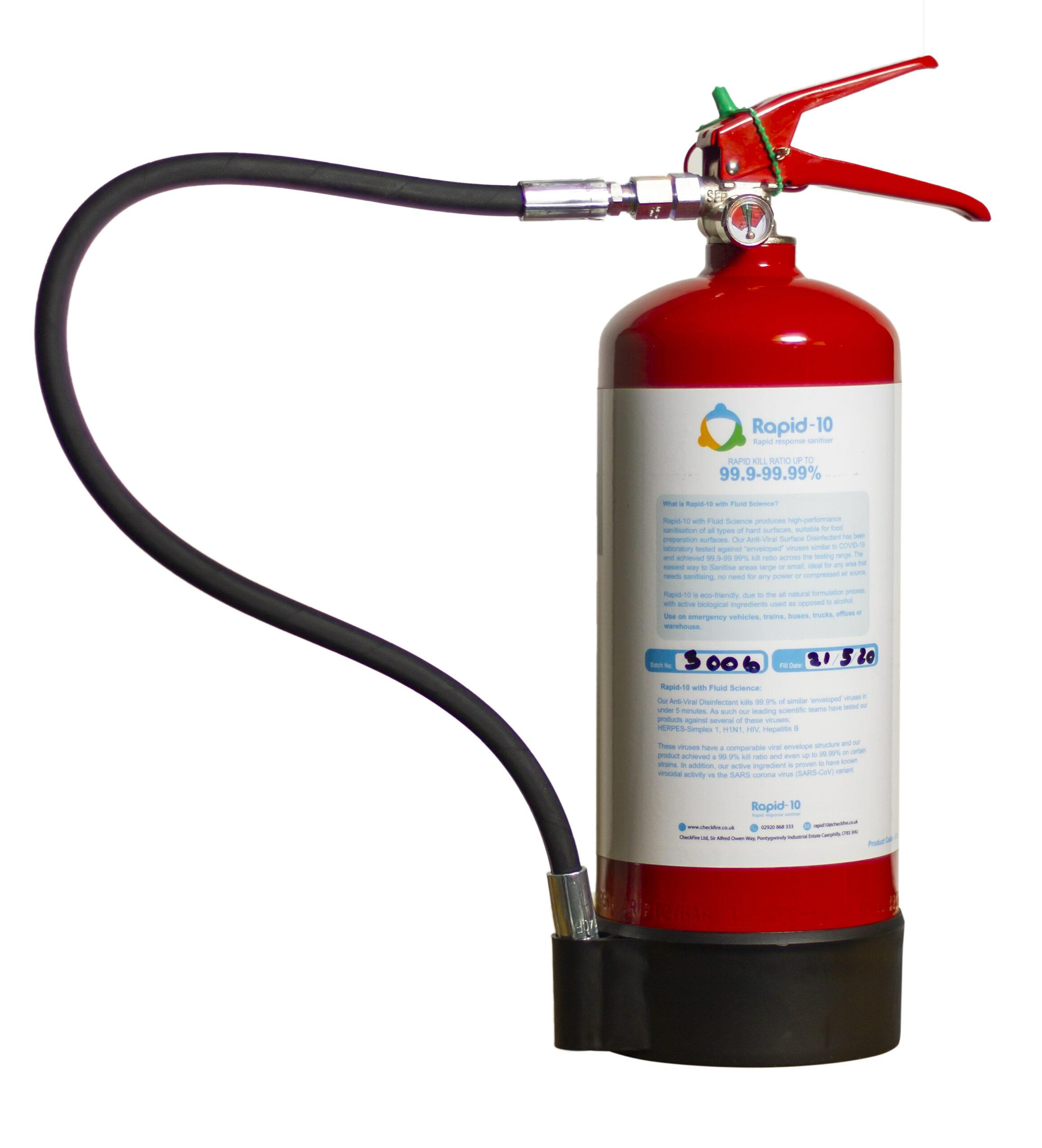 Rapid-10 Rapid response sanitiser