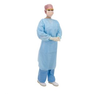 Thumb Loop Fluid Protection Gown