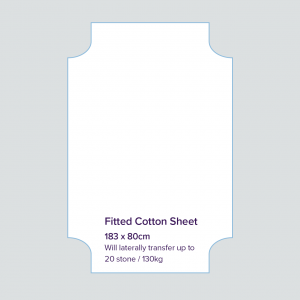 Orvecare fitted cot sheet